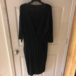 Plunging Neckline Dress